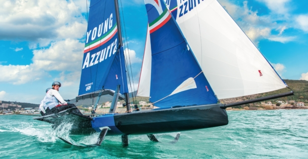 Young Azzurra al Youth Foiling Gold Cup