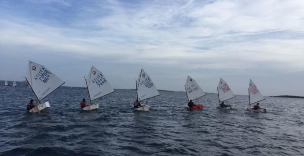 RADUNO TECNICO OPTIMIST Yacht Club Cagliari 14-16 Febbraio 2020