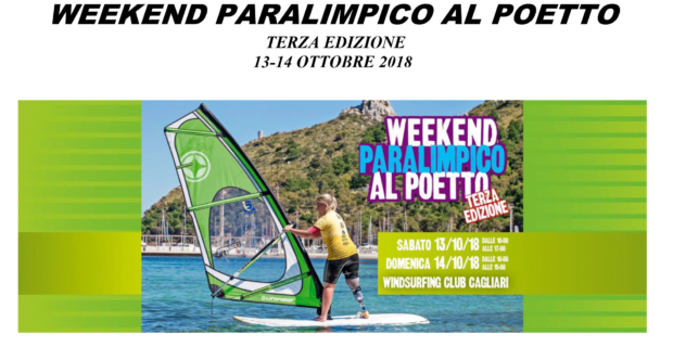 Weekend paralimpico al Poetto WCC 13/14 ottobre 2018