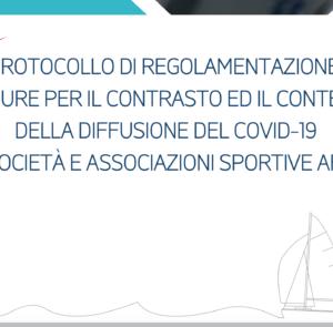 Protocollo di sicurezza Federazione Italiana Vela per la Fase 2